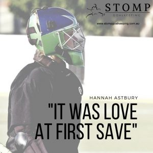 Hannah Astbury Goalkeeping