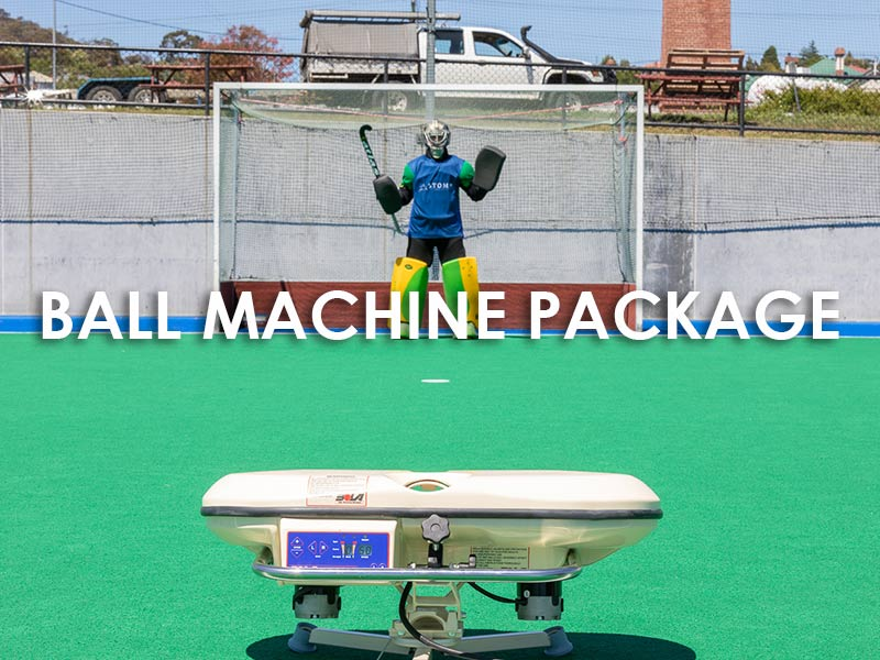 Hockey ball machine