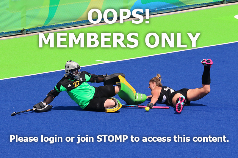 Member only area STOMP Goalkeeping