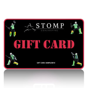 STOMP Goalkeeping gift card