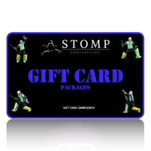 STOMP Goalkeeping gift card packages