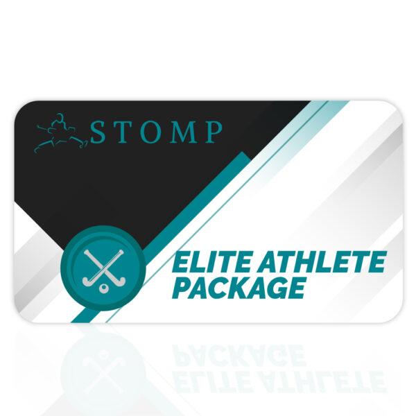Elite athlete gift card stomp goalkeeping