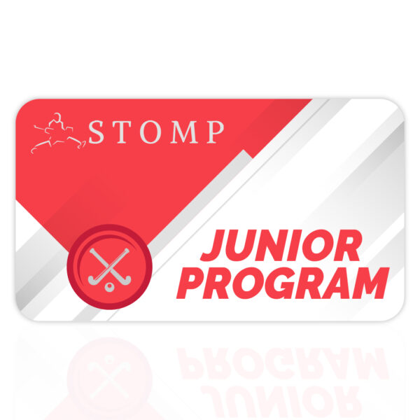 Junior Hockey coaching program gift card STOMP